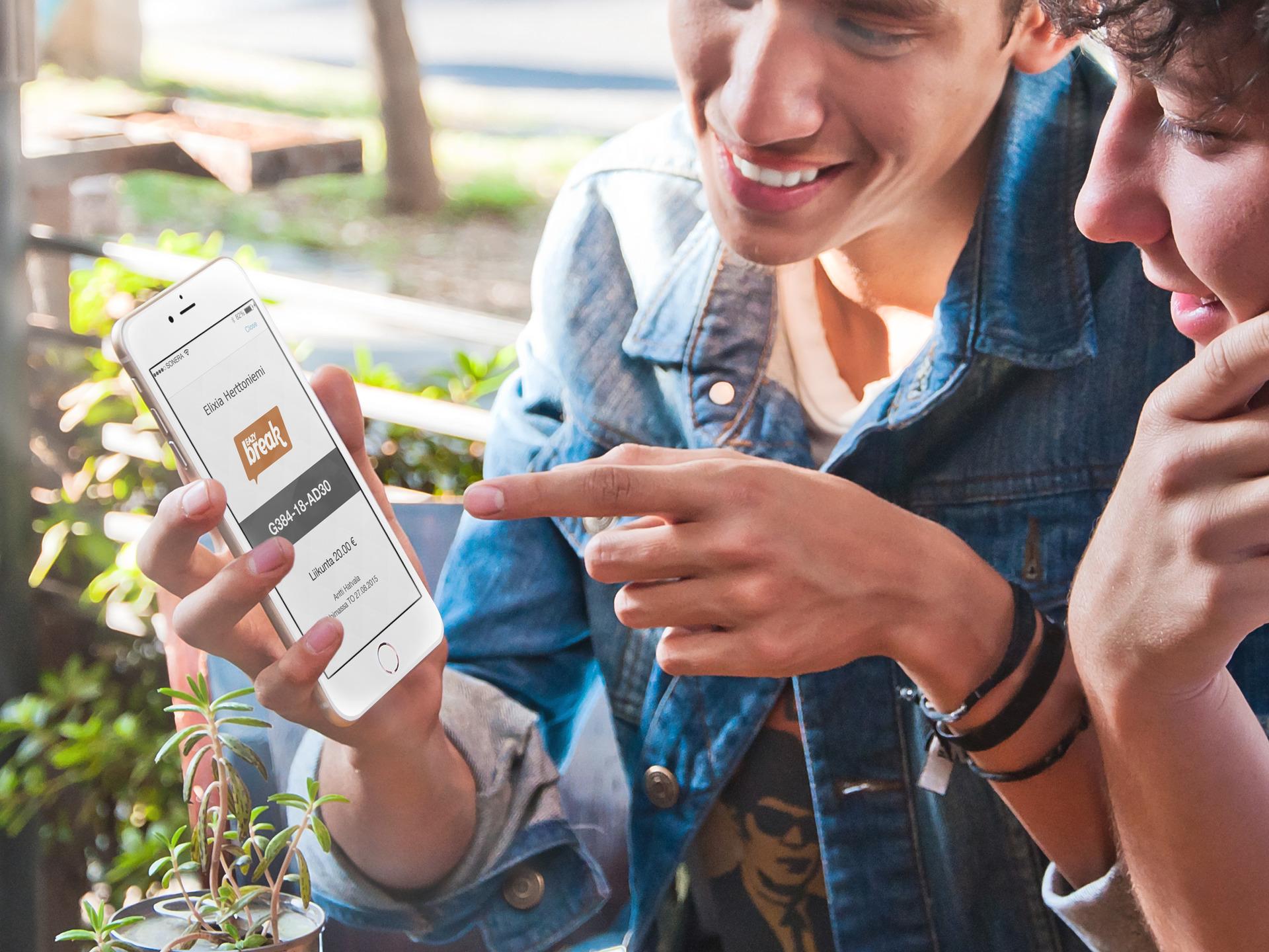 Eazybreak - liikunta- ja kulttuuriseteli mobiilipalveluna