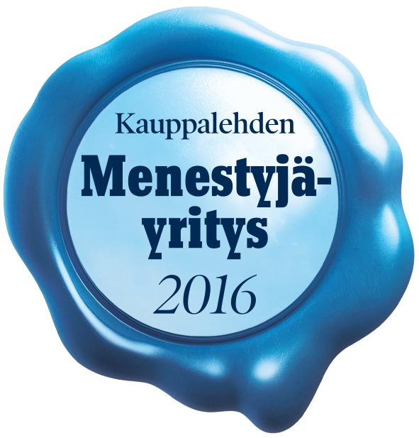 Eazybreak on Kauppalehden Menestyjäyritys 2016