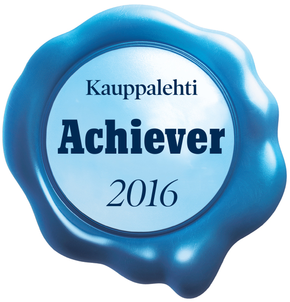 Eazybreak is Kauppalehti Achiever business 2016