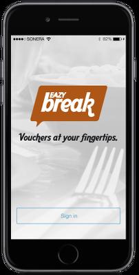 Eazybreak iOS-sovellus - Aloitus