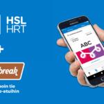 eazybreak työmatkaetu maksutavaksi HSL-sovellukseen